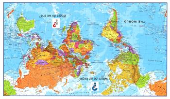 Mapupsidedown